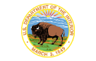 Logo us department of the interior